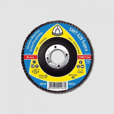Kotouč lamelový SMT624 115mm,zr. 60 NEREZ OCEL KL322767