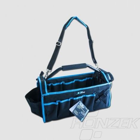 XTline Taška na nářadí s kovovou rukojetí, 490x230x280mm XT90050